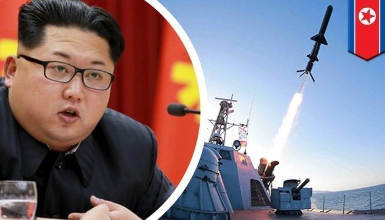 kim jung corée du nord missile
