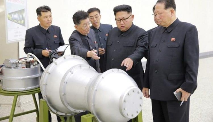 bombe hydrogène corée du nord