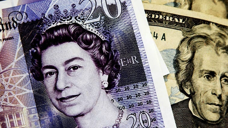 livre sterling dollar forex