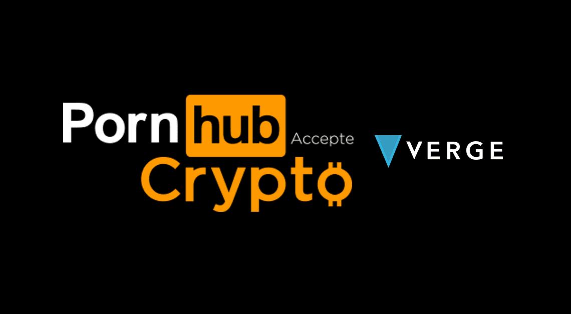 verge xvg pornhub cryptomonnaie