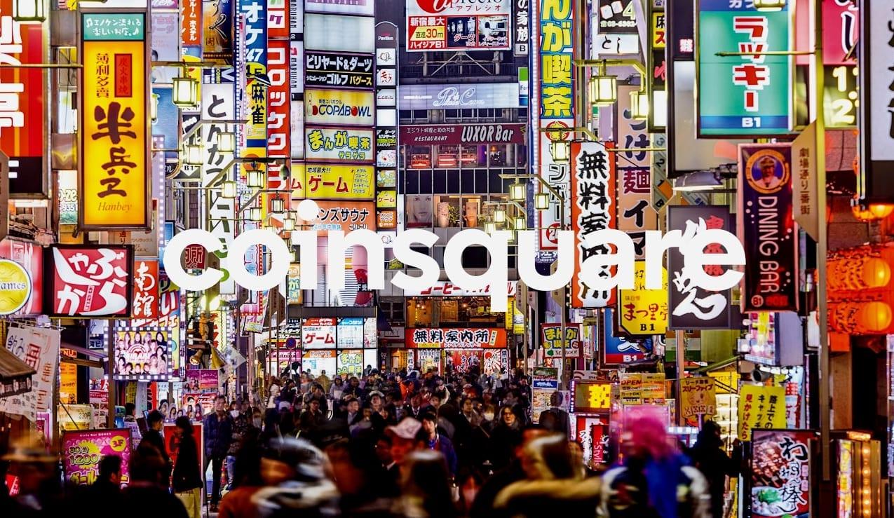 L'échange de cryptomonnaie canadien Coinsquare, le 2ième plus grand échange de cryptomonnaie au Canada en terme de volume de transaction, part à la conquête du Japon.