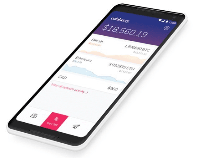 coinberry canada app bitcoin crypto