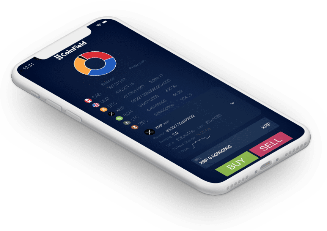 coinfield mobile app