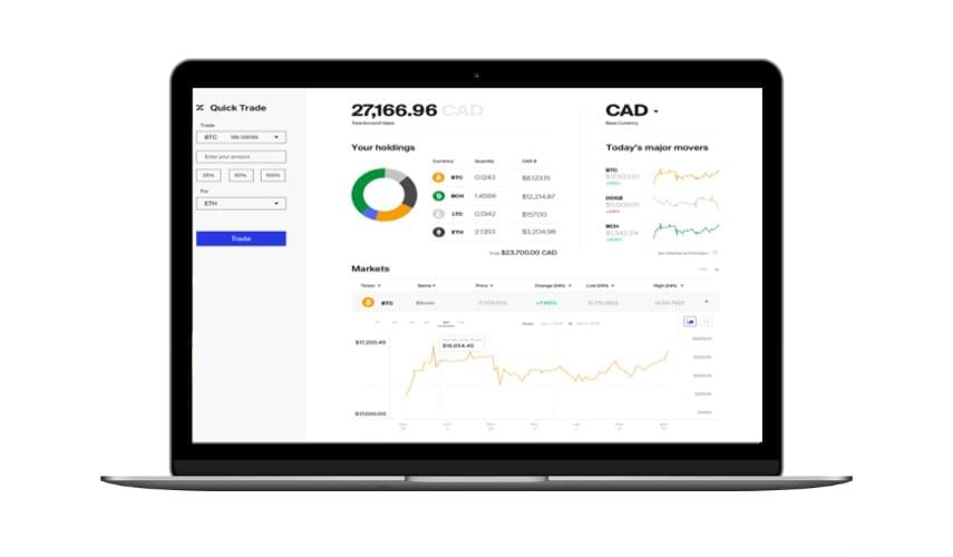 coinsquare plateforme trading crypto