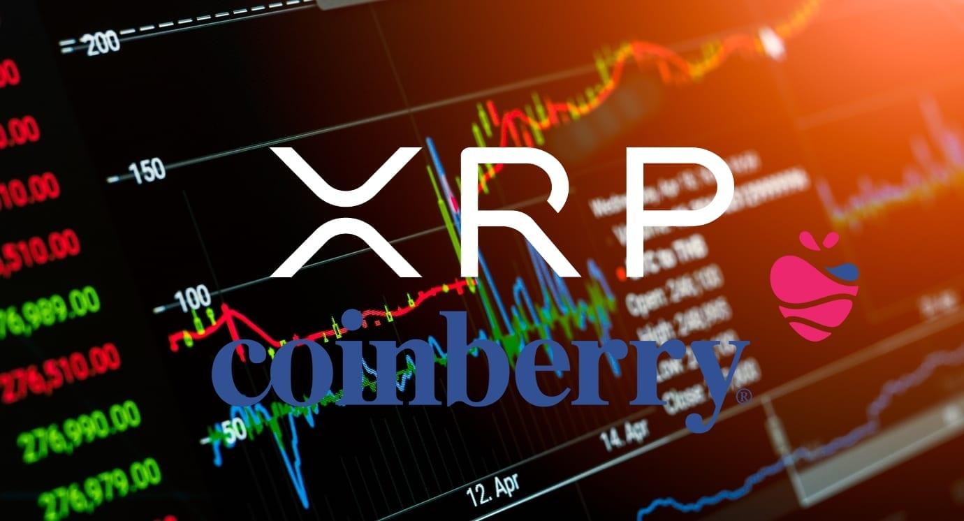 L'échange canadien de cryptomonnaies Coinberry vient d'ajouter la cryptomonnaie XRP de Ripple sur sa plateforme de négociation.