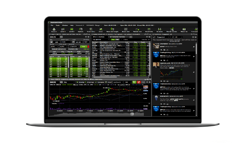 plateforme trading questrade iq edge