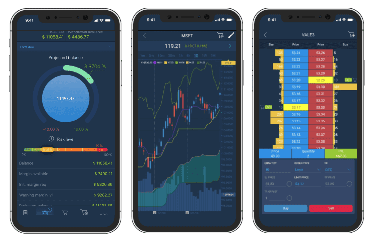 traderevolution plateforme trading mobile