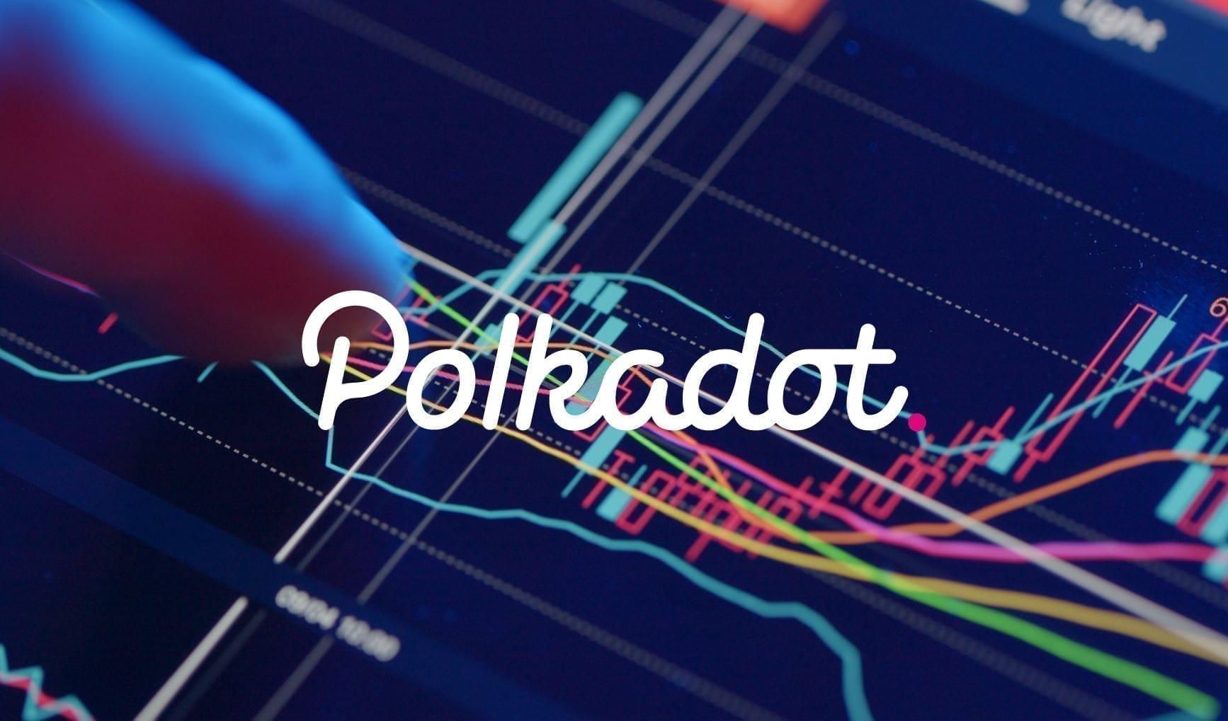 Le cours de la crypto-monnaie Polkadot (DOT) est en consolidation depuis le 20 février. Le prix du Polkadot est dans un triangle symétrique.
