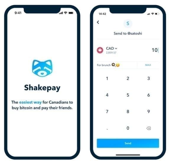 shakepay app