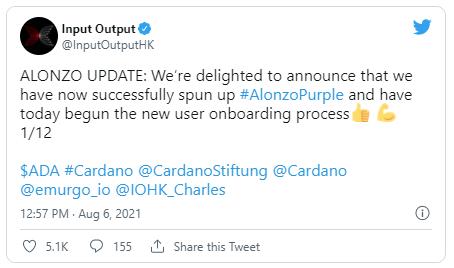 cardano cryptomonnaie ada twitter-input