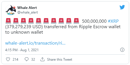 xrp ripple twitter 04082021
